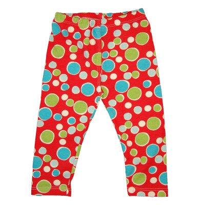 EC Wear Split Pants Red Dots Cotton