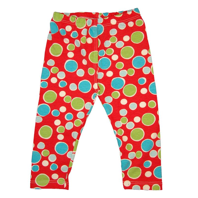 EC Wear Split Pants Red Dots Cotton