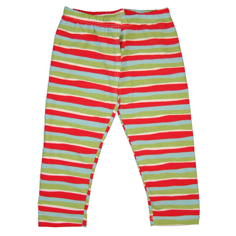 EC Wear Split Pants Red Stripes Cotton