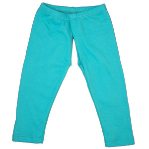 EC Wear Split Pants Turquoise Cotton Open