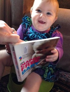 customerbabyreadingbook