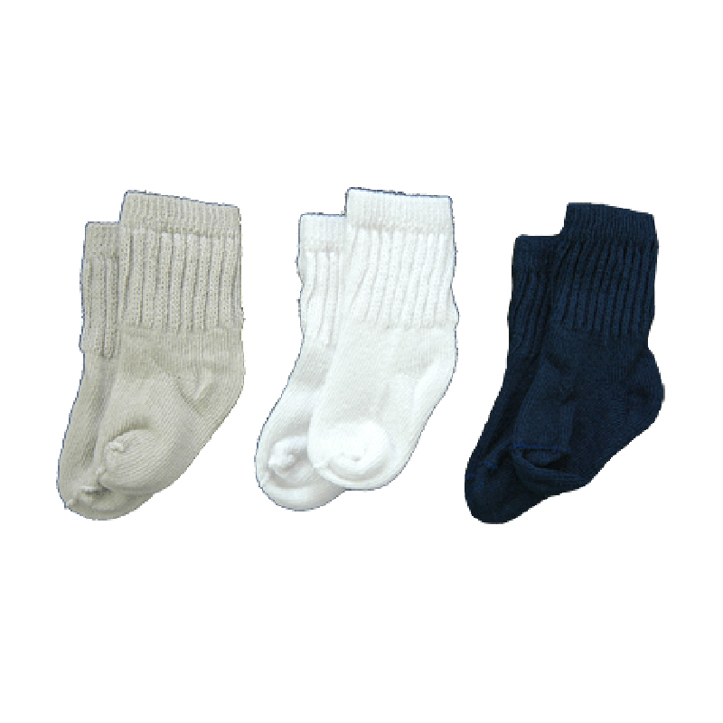 solid crew socks khaki white, black