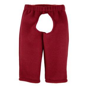 cranberry fleece LBC