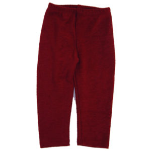 burgundy wool Split Pants