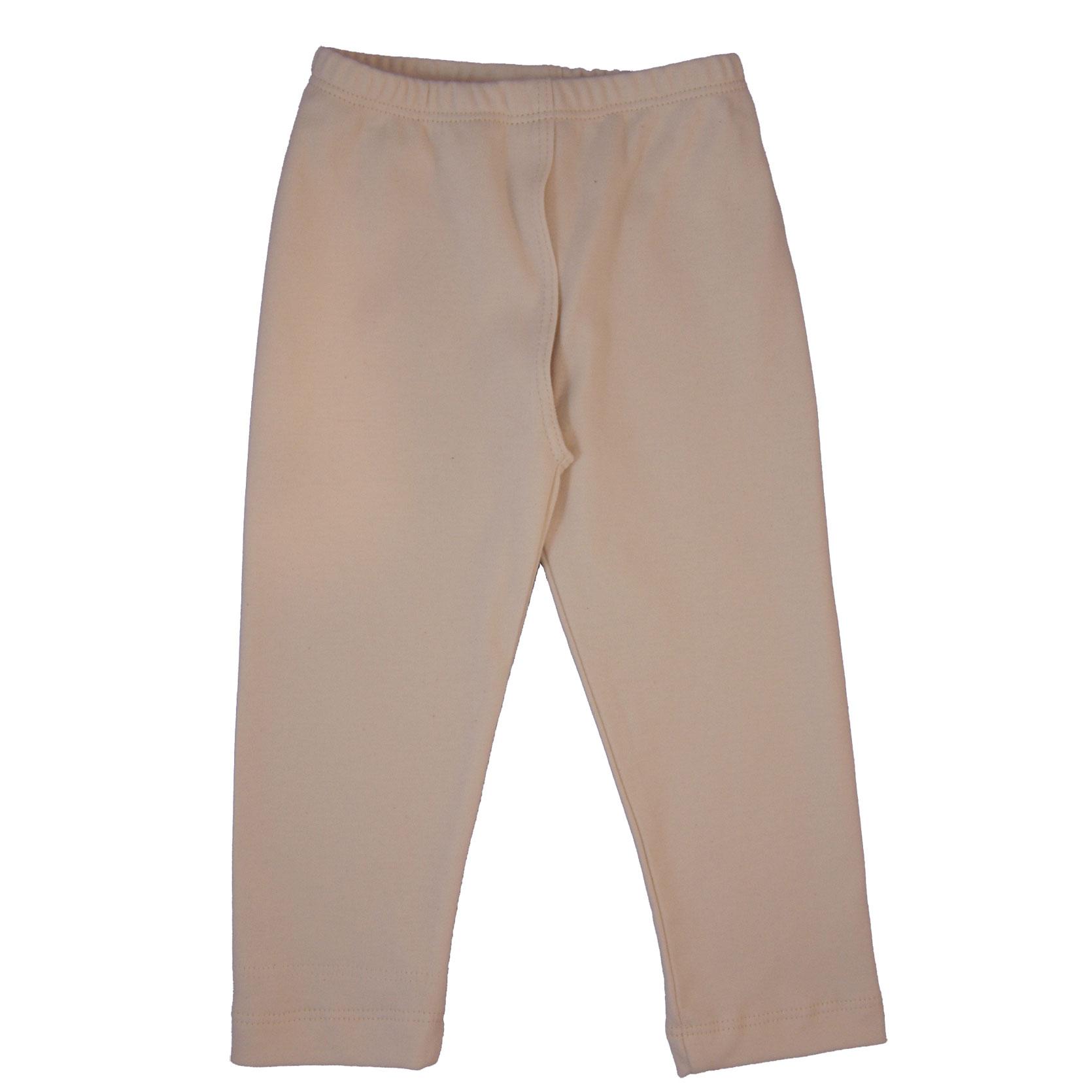 EC Wear Split Pants Natural Cotton on Model