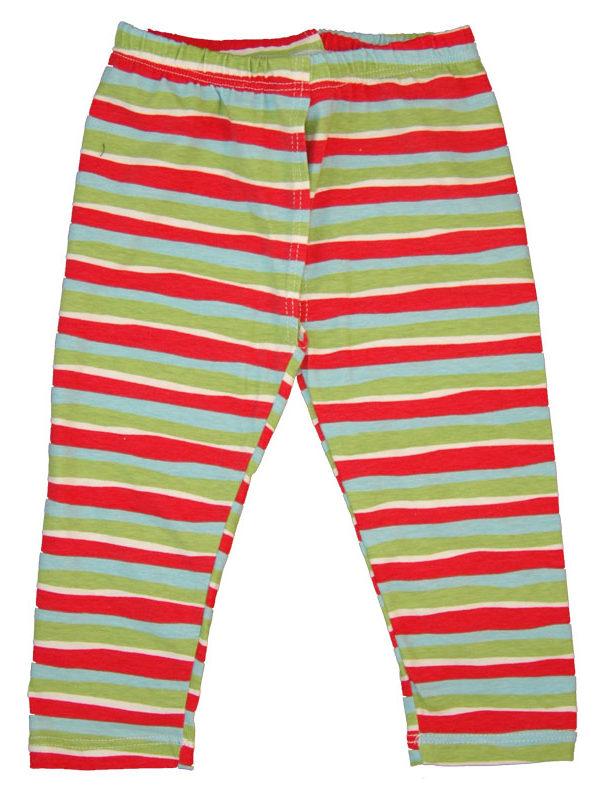 EC Wear Split Pants Red Stripes Cotton
