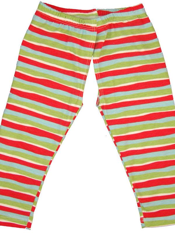 EC Wear Split Pants Red Stripes Cotton Open