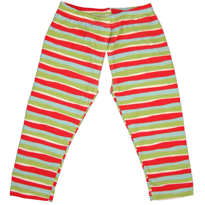 EC Wear Split Pants Red Stripes Cotton Open