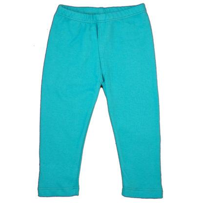EC Wear Split Pants Turquoise Cotton
