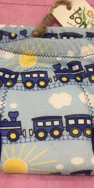 Bongo Baby training underwear with black train print